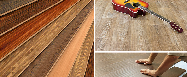 Laminate floor comes in different color and have different uses